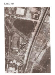 Luftbild  der Kolonie aus dem Jahr 1953